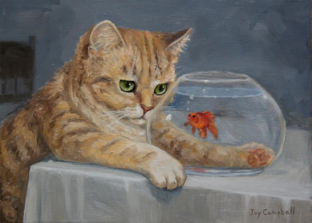 """I See Sushi in my Future"" original fine art by Joy Campbell"