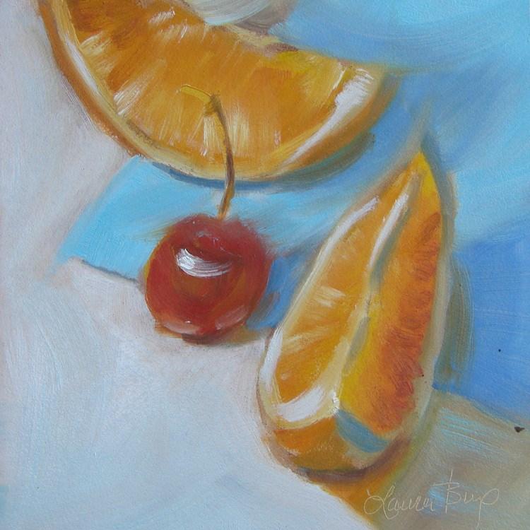 """Fresh Fruit - 376"" original fine art by Laura  Buxo"