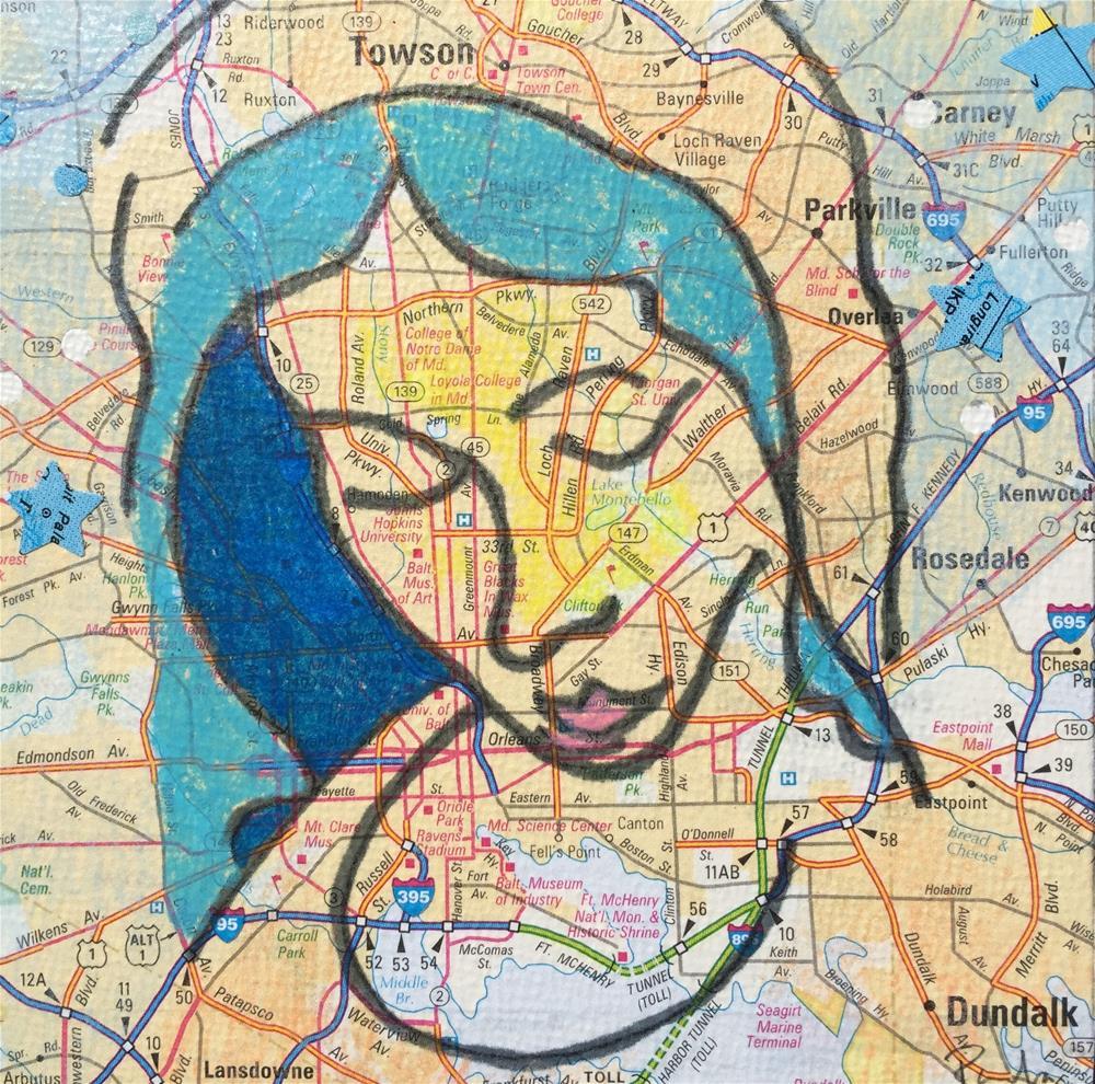 """Mary #9"" original fine art by Diane Paroda"