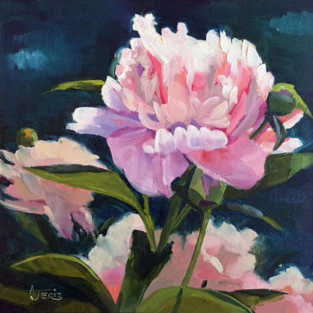 """Bursting Peony"" original fine art by Andrea Jeris"