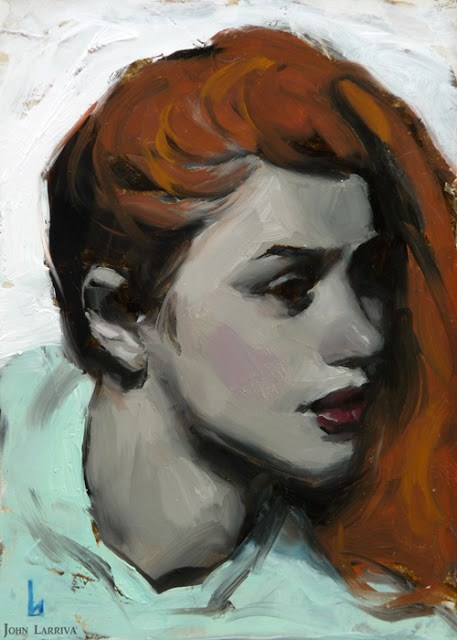 """Sunless"" original fine art by John Larriva"
