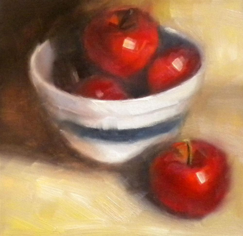 """""""Red, White and Blue"""" original fine art by Darla McDowell"""