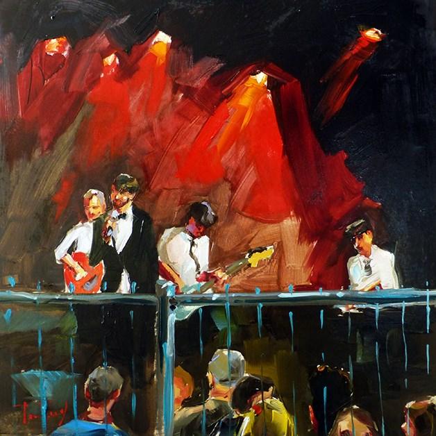 """Konzert"" original fine art by Jurij Frey"
