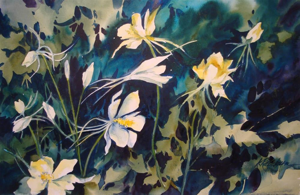 """Columbine"" original fine art by Kathy Los-Rathburn"