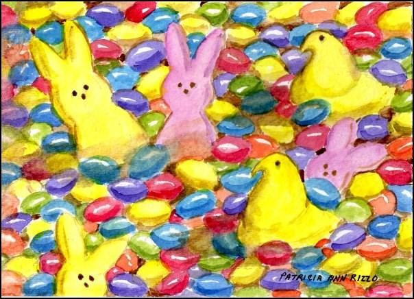 """Spring Candy"" original fine art by Patricia Ann Rizzo"