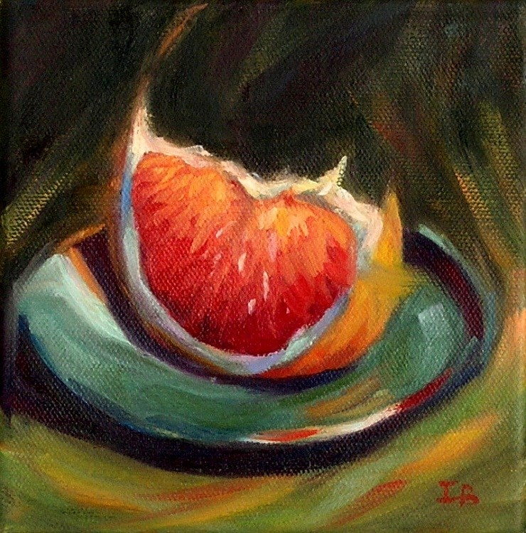 """Grapefruit, anyone?"" original fine art by Irina Beskina"