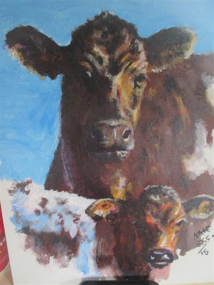 """Don't Mess with Me"" original fine art by Kate Less-Madsen"