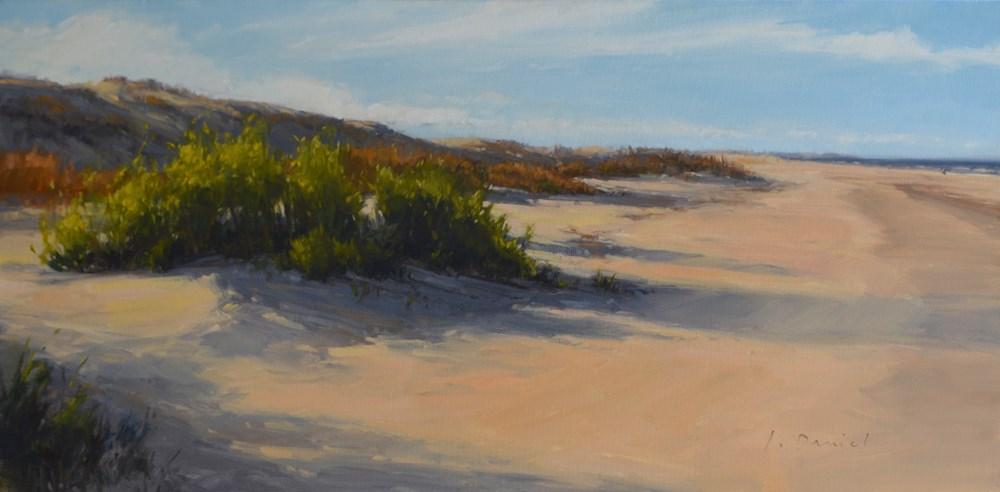 """""""Tide Lines - Anderson Gallery Exhibit"""" original fine art by Laurel Daniel"""