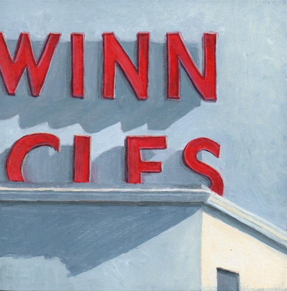 """Winn"" original fine art by Debbie Shirley"