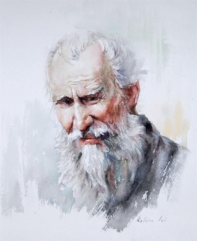 Portrait Study original fine art by Kelvin Lei