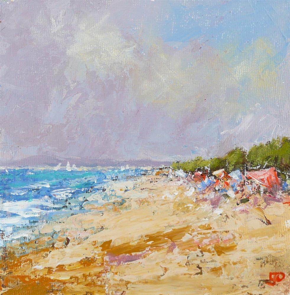 """""""Summer Days"""" original fine art by Leanne Owen"""