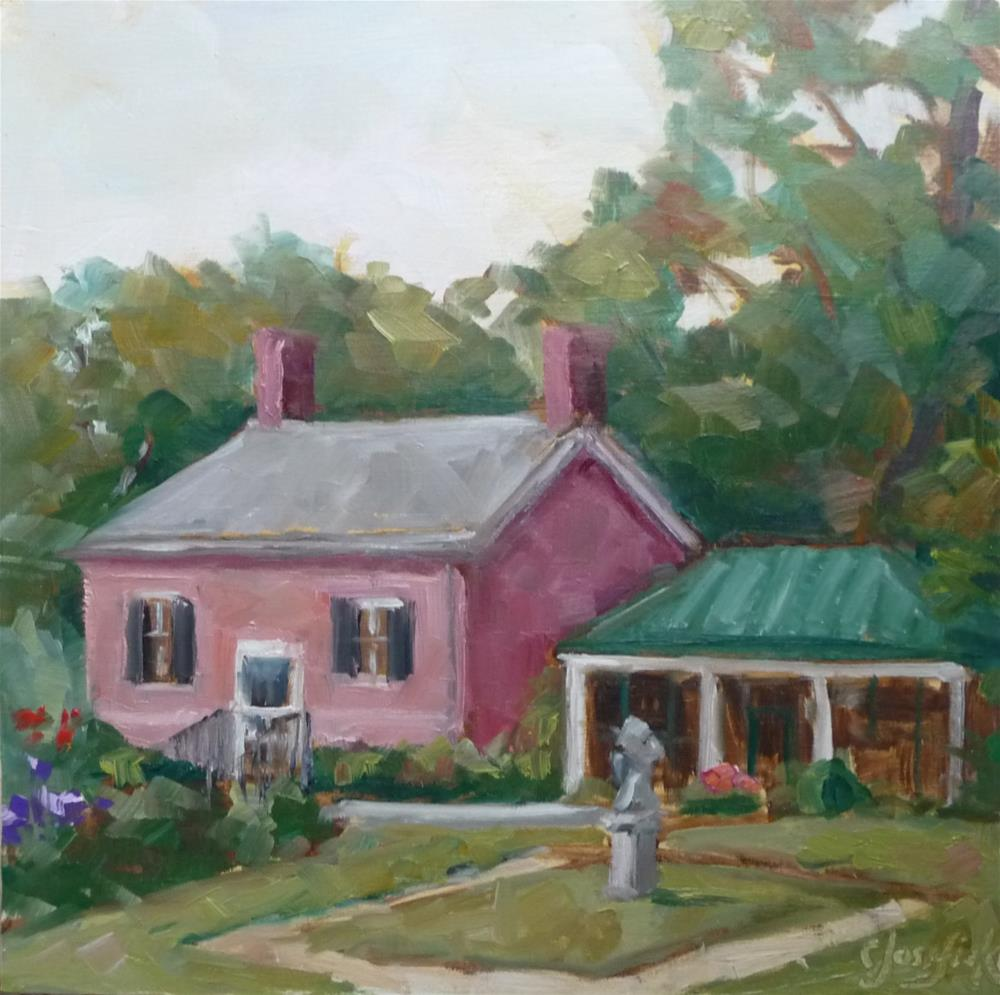 """Summer House"" original fine art by Carol Josefiak"