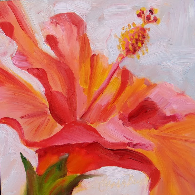 """Amost Spring! 108"" original fine art by Laura  Buxo"