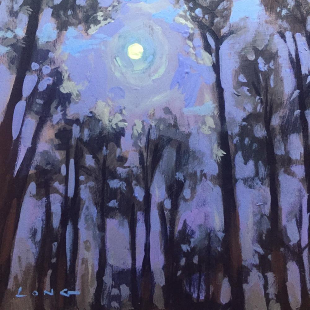 """""""Moonlight II"""" original fine art by Chris Long"""