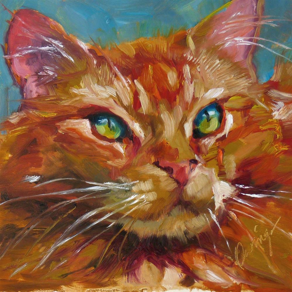 """Casanova"" original fine art by Sharman Owings"