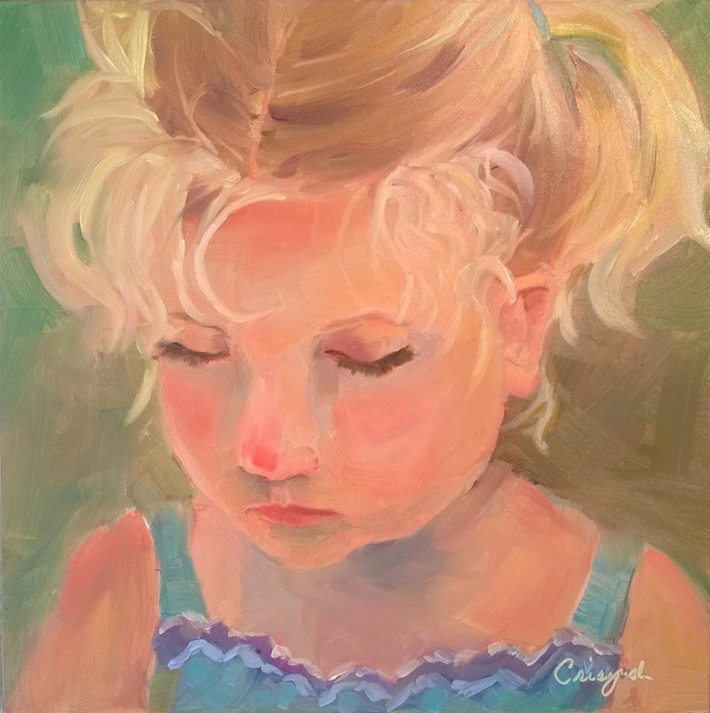 """Lily"" original fine art by Crisynda Buss"