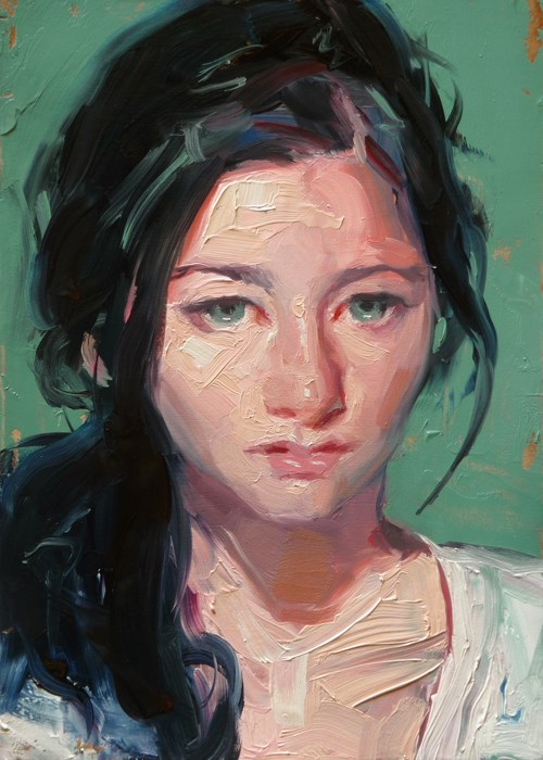 """Pinky"" original fine art by John Larriva"