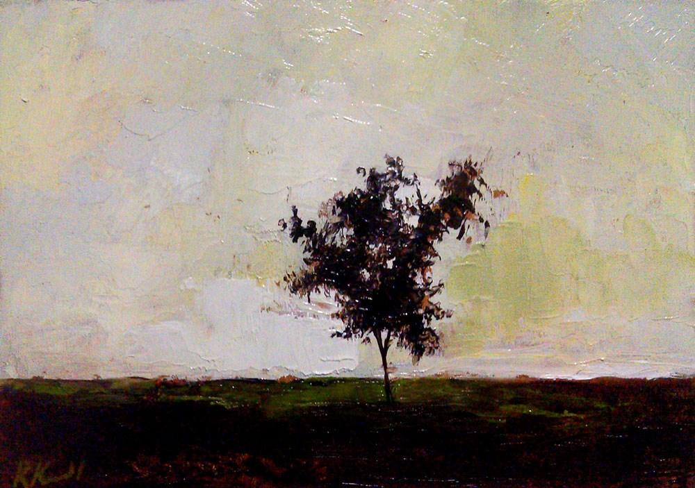 """Twiggy Tree"" original fine art by Bob Kimball"