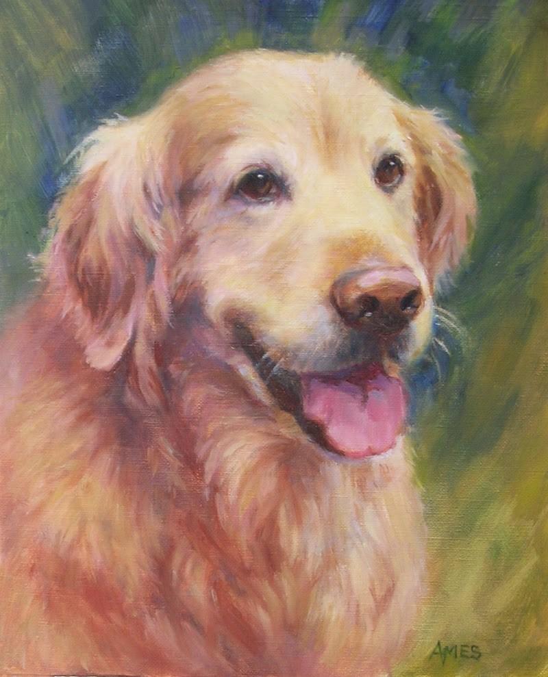 """""""Sweet Golden"""" original fine art by Debra Ames"""