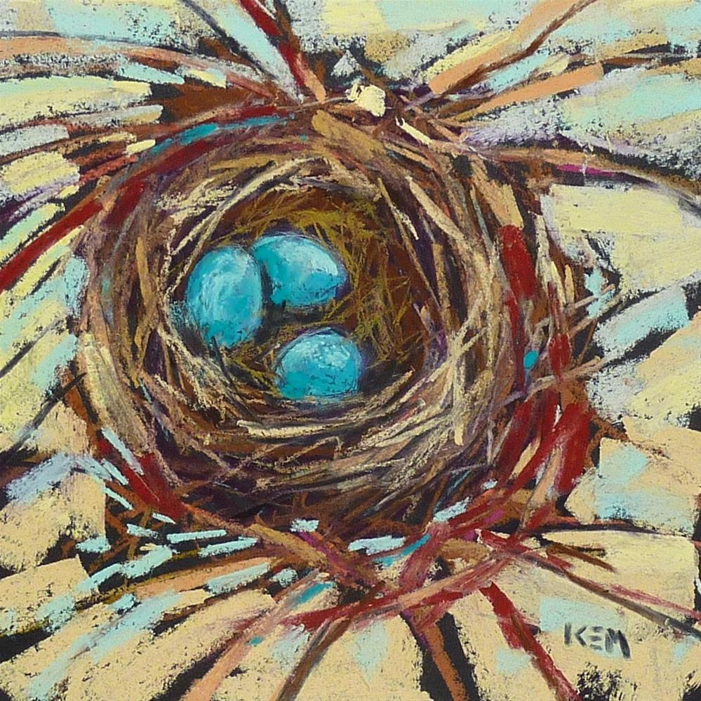 """The Easter I was Famous"" original fine art by Karen Margulis"