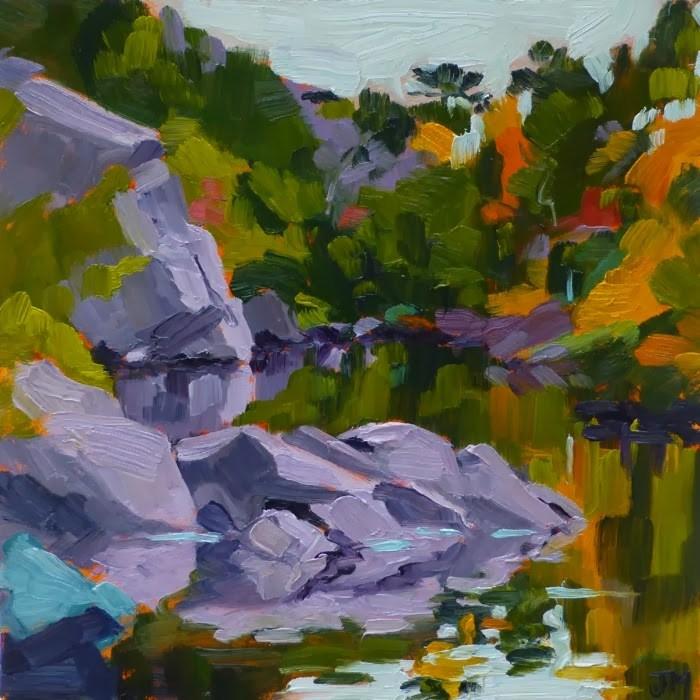"""Mayo's Landing"" original fine art by Jessica Miller"