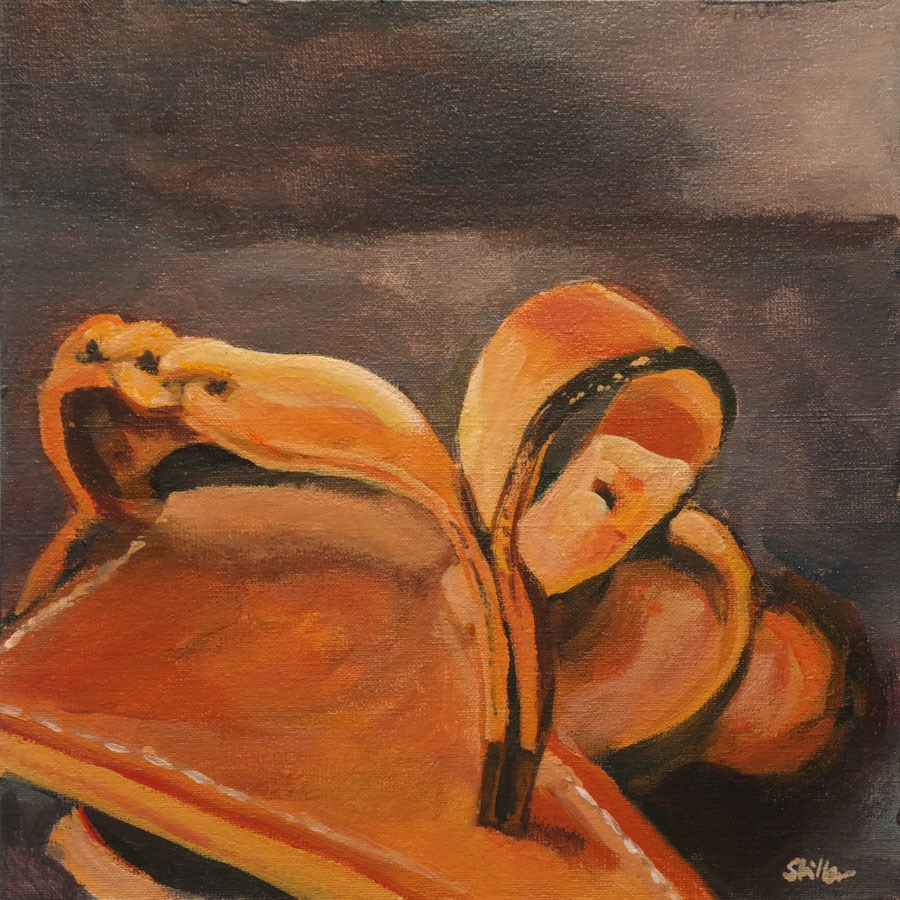 """1416 Summer Flops"" original fine art by Dietmar Stiller"