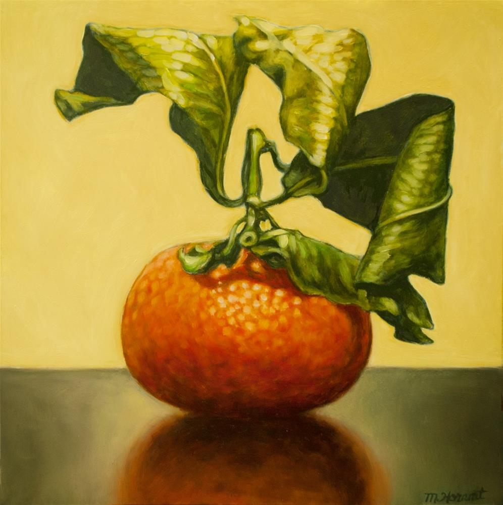"""Sweet Clementine"" original fine art by Margaret Horvat"