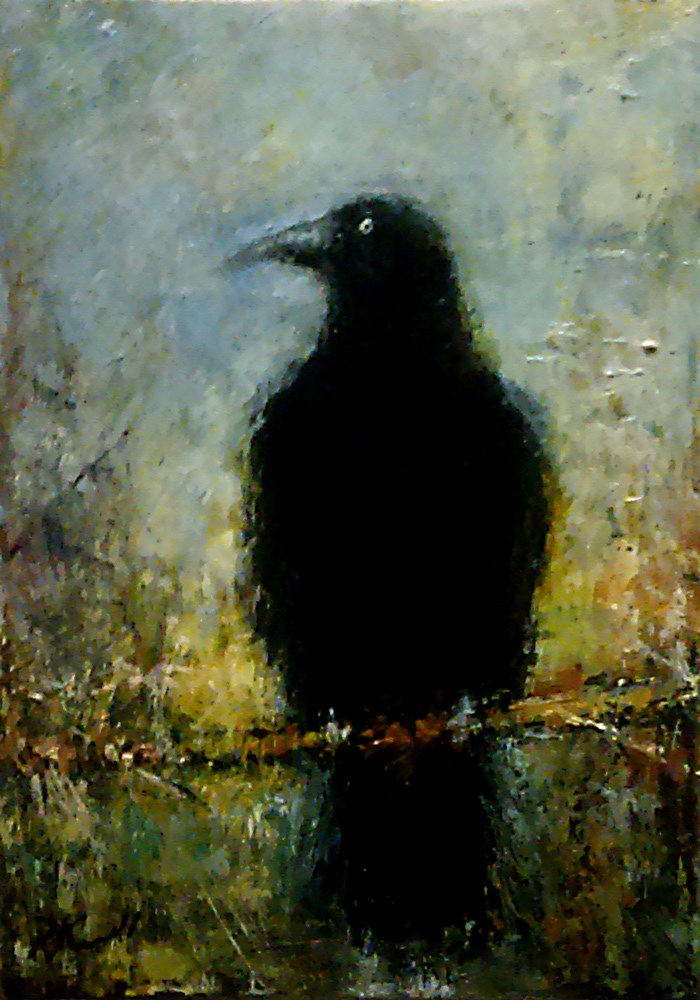 """Everybody Loves Ravens"" original fine art by Bob Kimball"