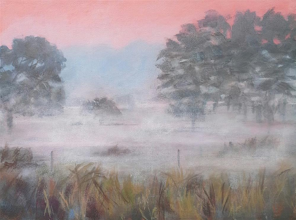 """Fog Challenge #2"" original fine art by Leanne Owen"