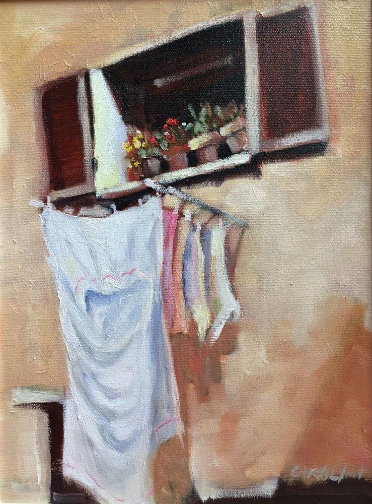 """""""Mid Day Sun"""" original fine art by Carolynn Doan"""