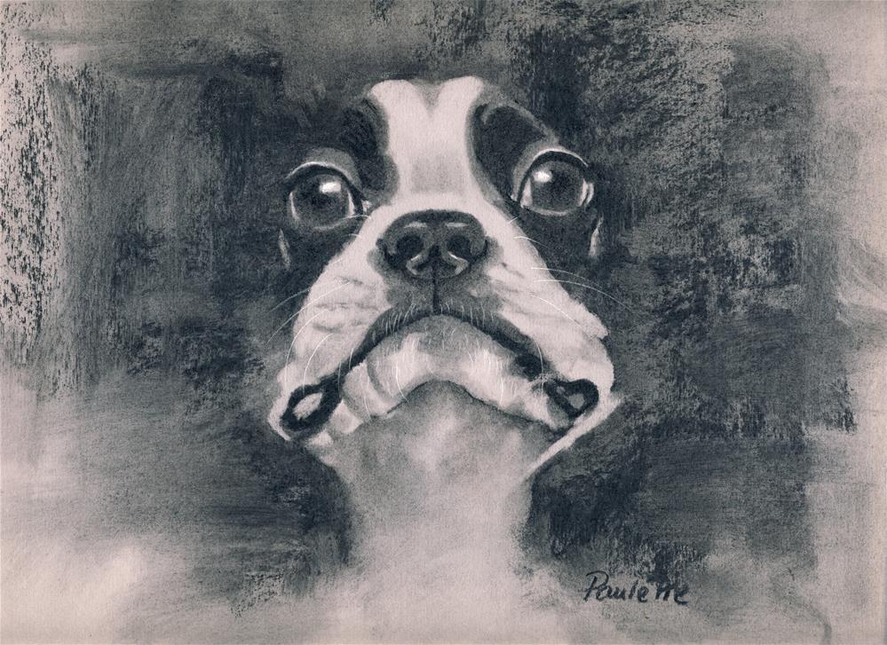 """Silhouette"" original fine art by Paulette Farrell"