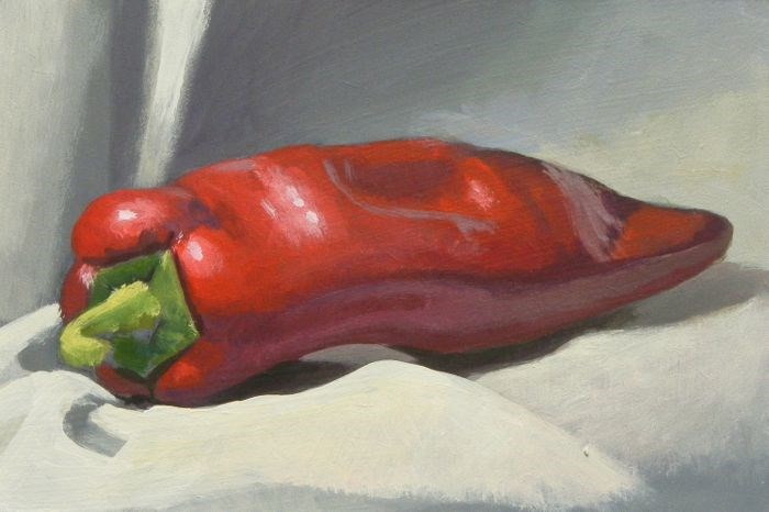 """Pepper"" original fine art by Peter Orrock"