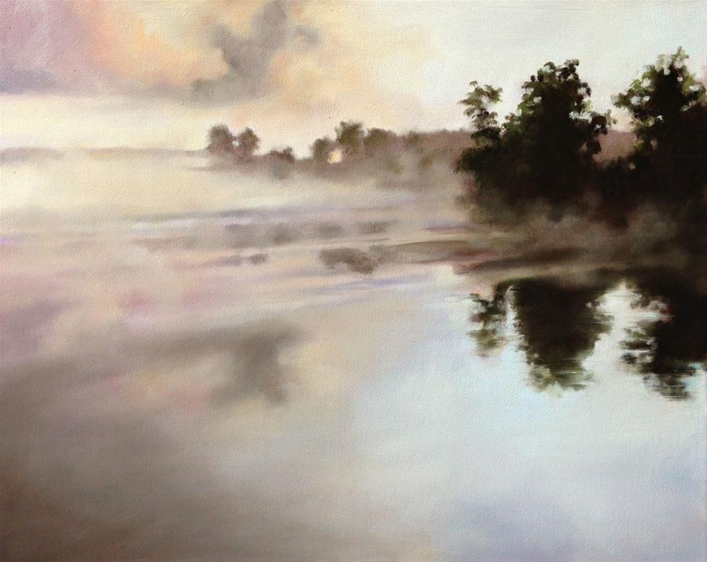 """""""Lake Shea"""" original fine art by Beth Moreau"""