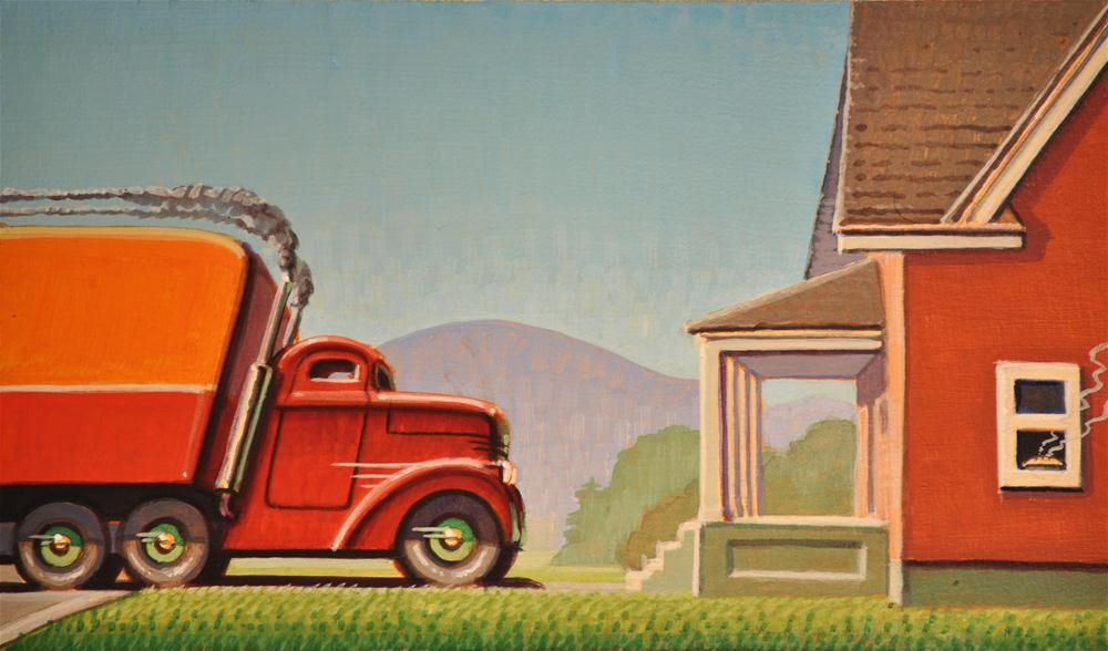 """Apple pie"" original fine art by Robert LaDuke"