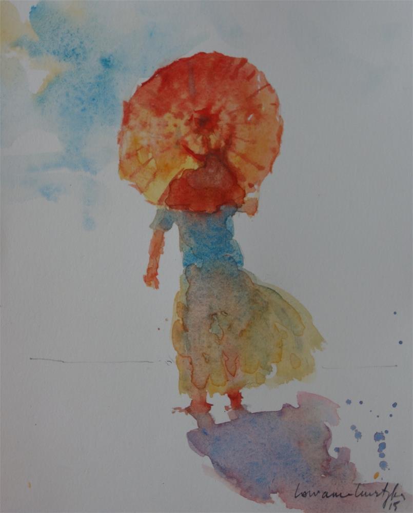 """""""Sunshine"""" original fine art by Lorraine Lewitzka"""