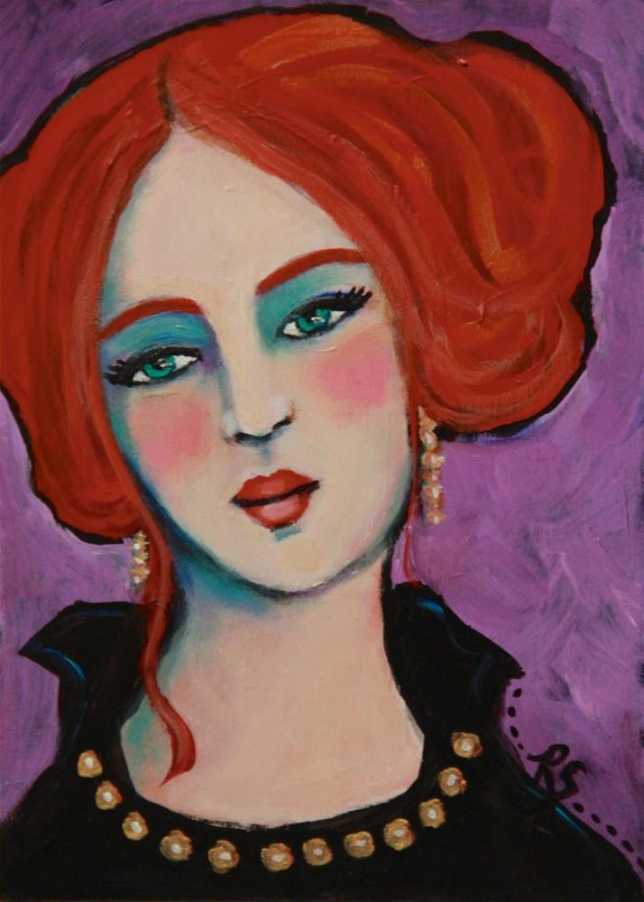 """Alexandra"" original fine art by Roberta Schmidt"