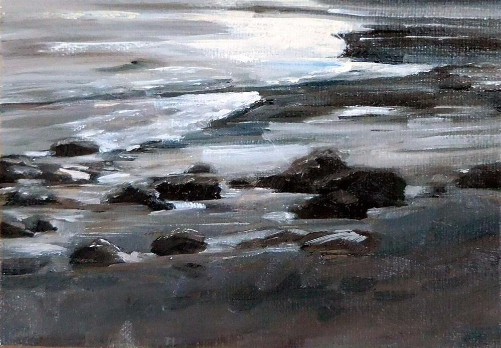 """Evening Tide"" original fine art by Cietha Wilson"