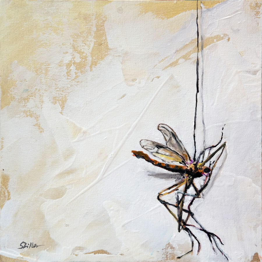"""""""1808 Falling Down"""" original fine art by Dietmar Stiller"""