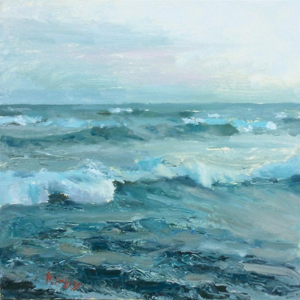 """Down to the Sea"" original fine art by Randall Cogburn"