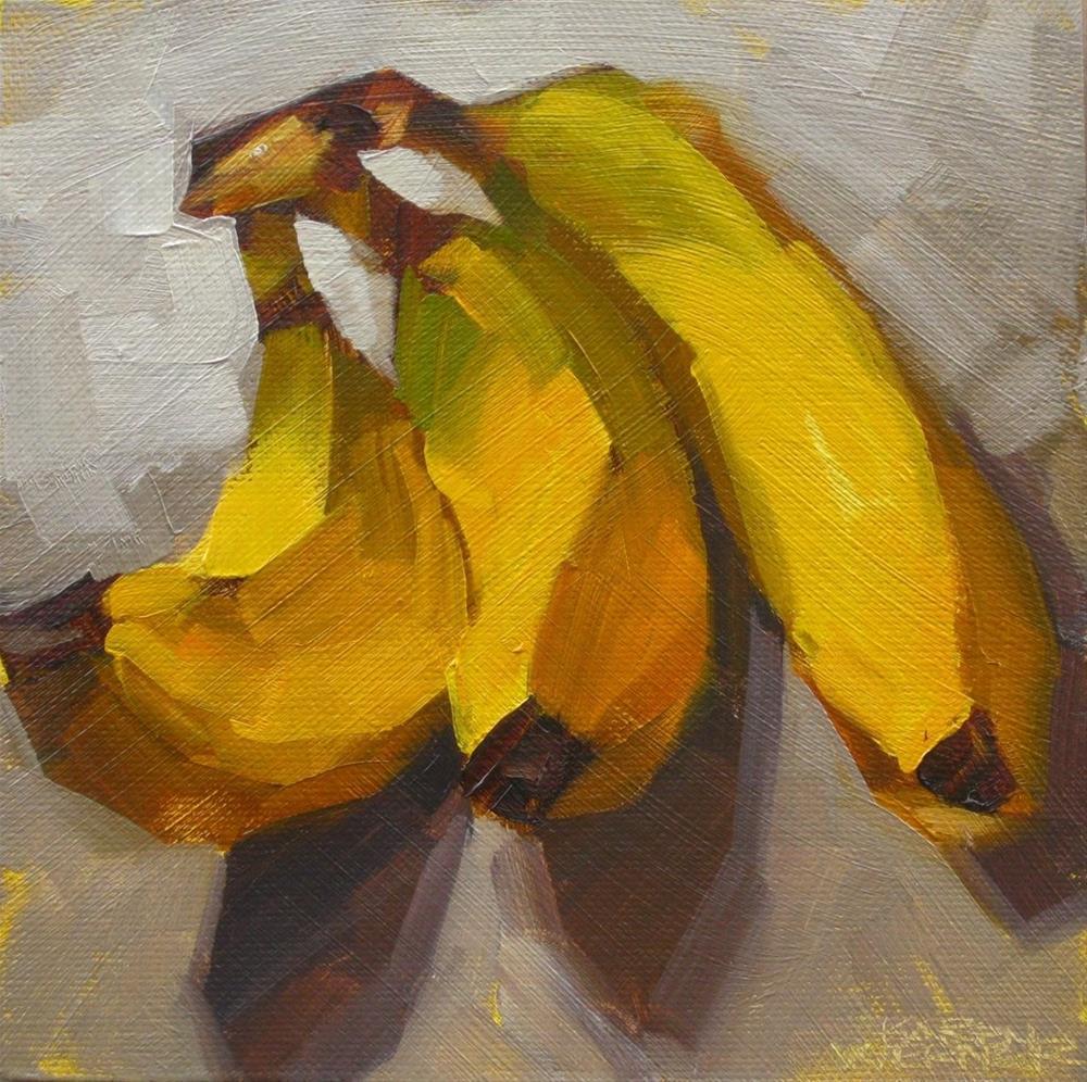 """Nanners"" original fine art by Karen Werner"