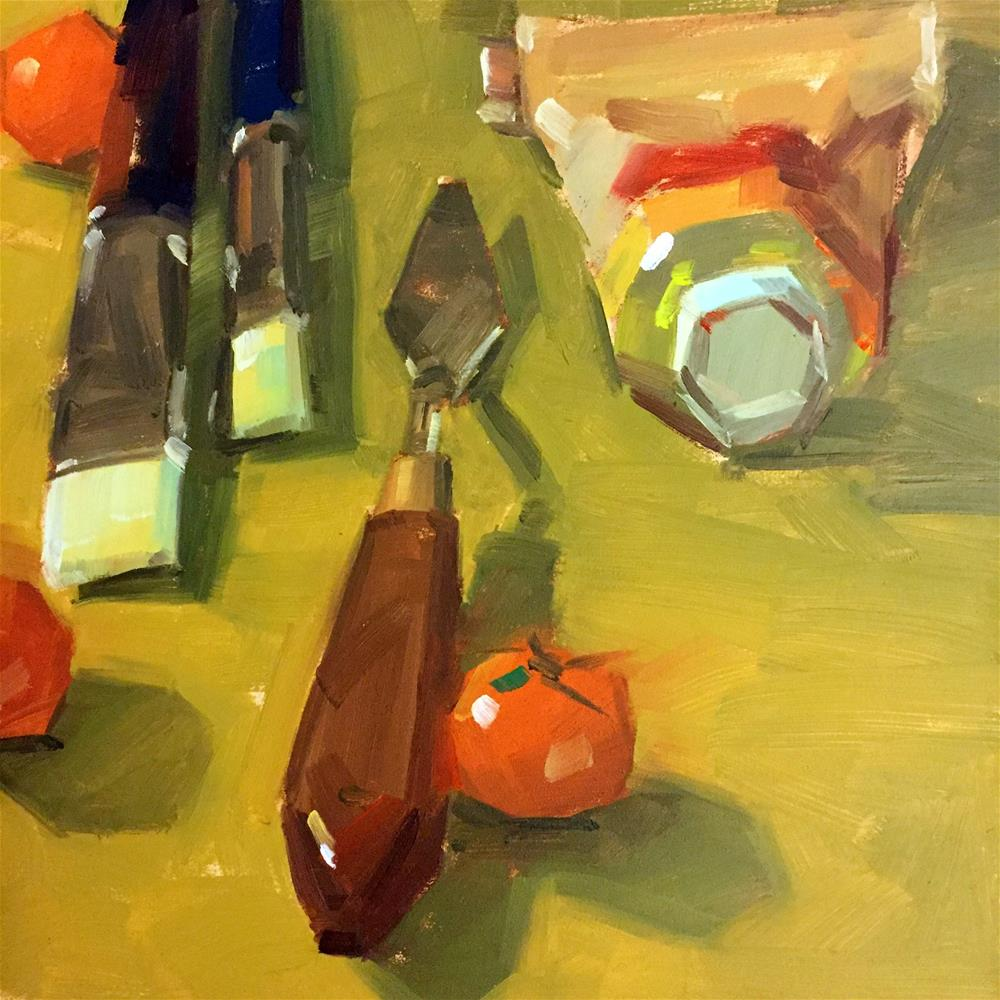 """Painting Tools"" original fine art by Jiyoung Kim"