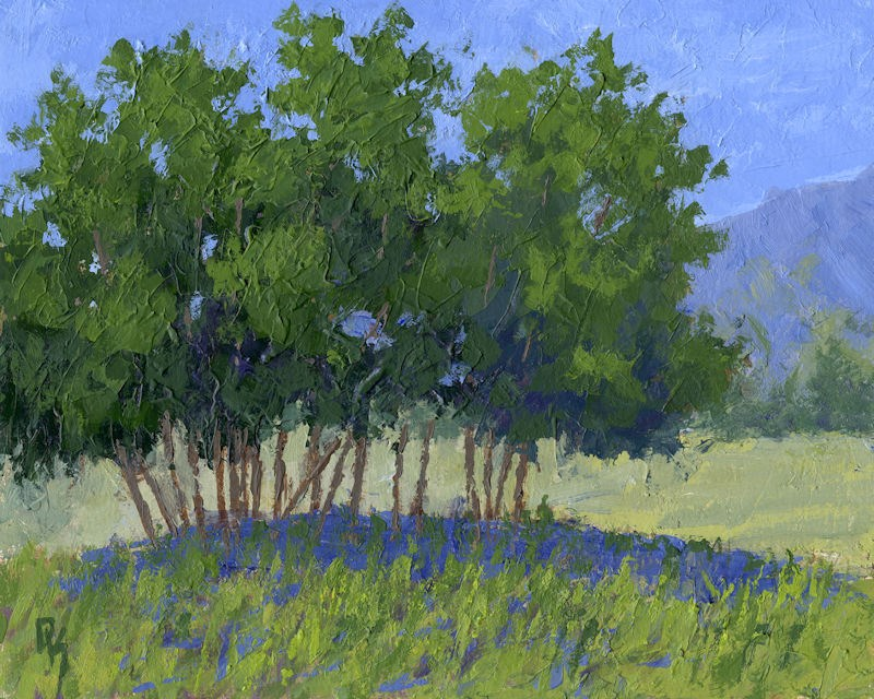 """Tree Stand"" original fine art by David King"