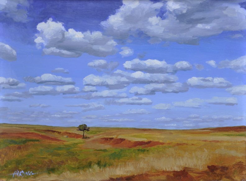 """As Far As The Eye Can See"" original fine art by Scott Harding"