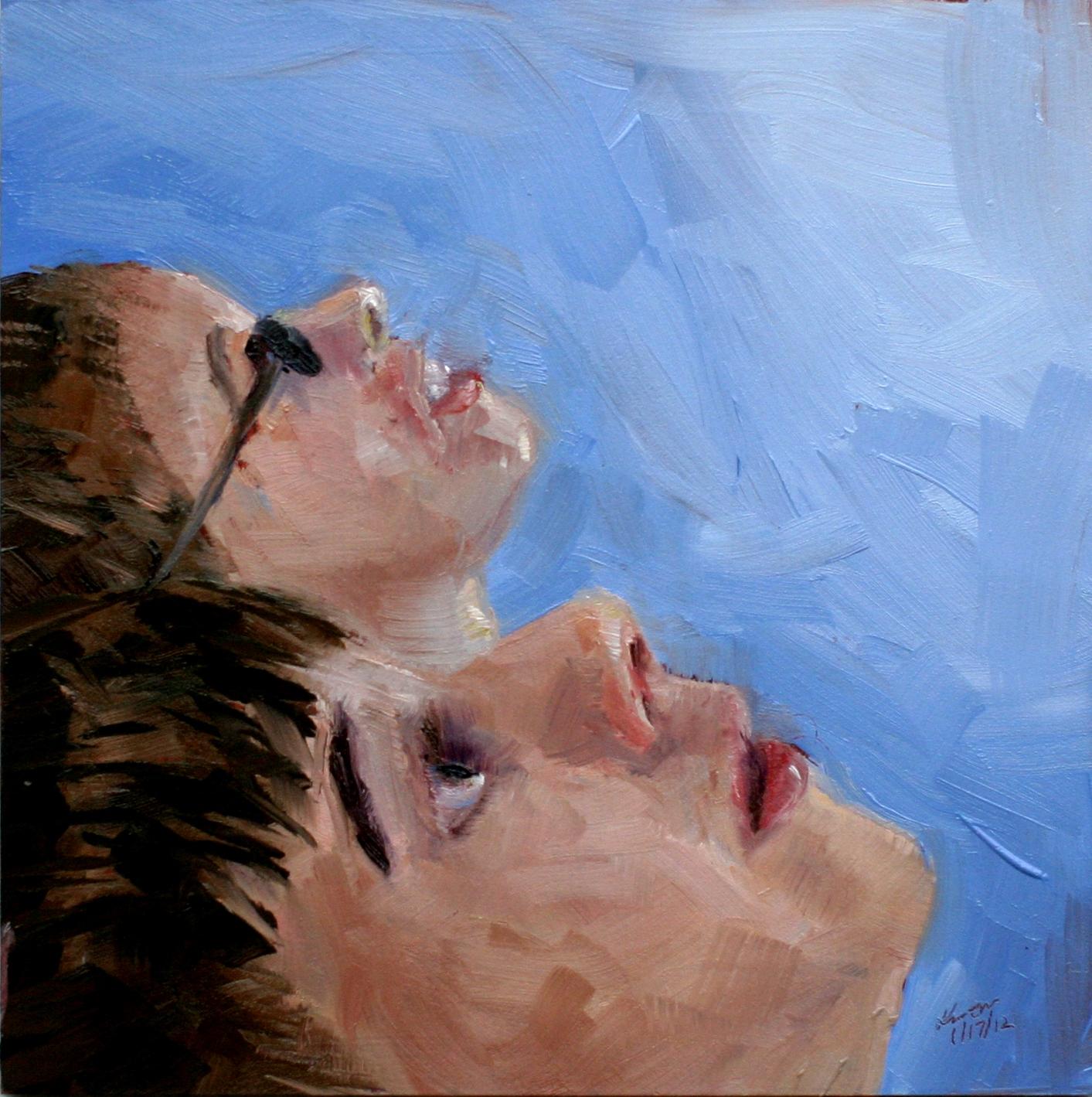 """Scouting Ahead...."" original fine art by Kristen Dukat"