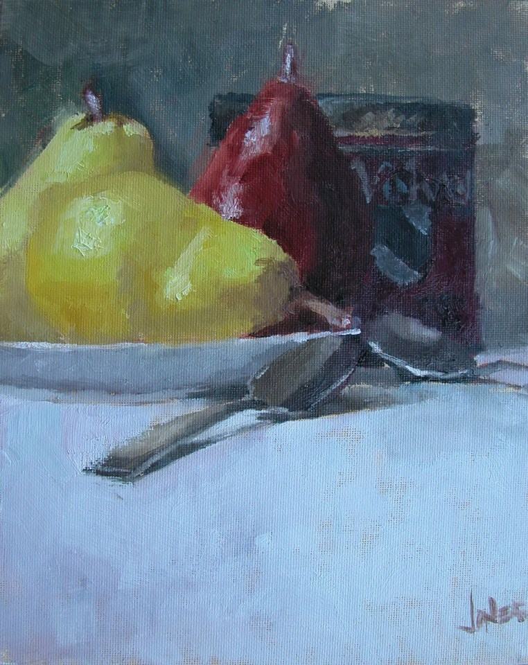 """Pears"" original fine art by Richard Jones"