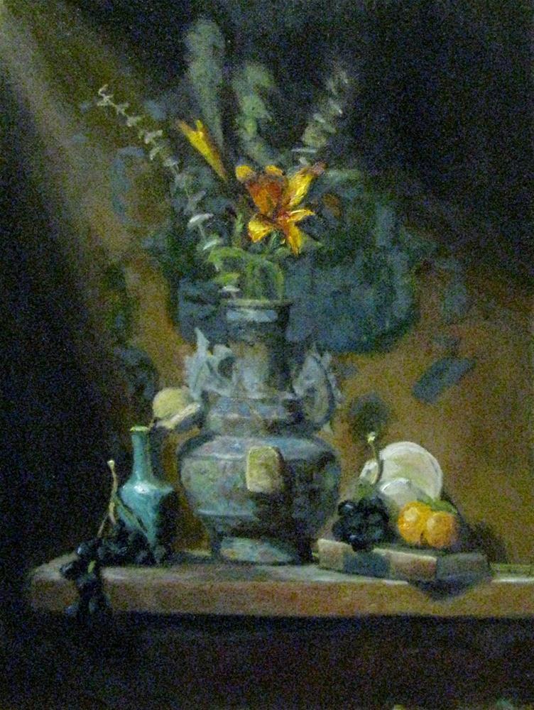 """movement of light - study #611"" original fine art by tom dawson"