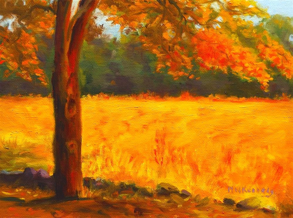 """Under the Tree"" original fine art by Michael Kennedy"