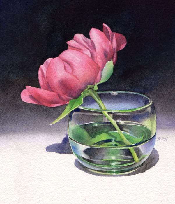 """Sarah's #1"" original fine art by Barbara Fox"