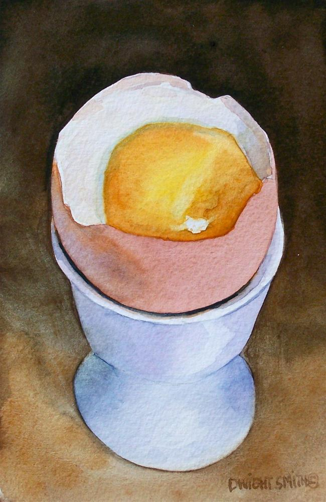 """ SOFT, NO TOAST "" original fine art by Dwight Smith"