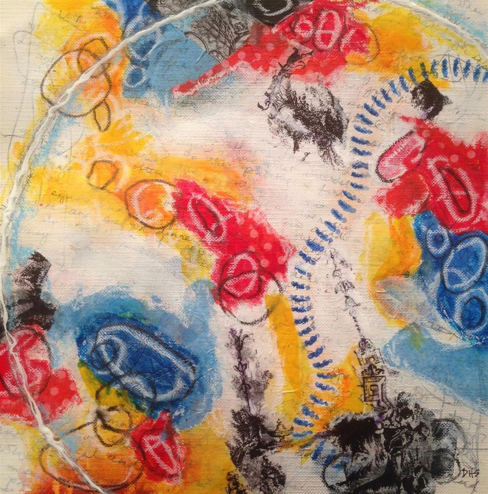 """Curve Ball"" original fine art by Dotty  Seiter"